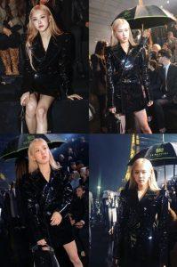 Rose BLACKPINK Terlihat Memukau Tanpa Celana Ketika Menghadiri Paris Fashion Week